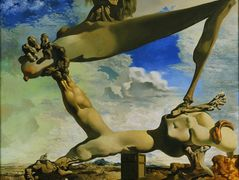 Soft Construction with Boiled Beans: Premonition of Civil War – Salvador Dali