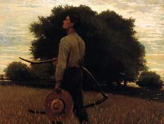 Song of the Lark (also known as In the Field) – Winslow Homer