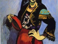 Spanish Woman with a Tamborine – Henri Matisse