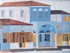Houses at Hydra – Nikos Nikolaou