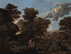 Spring (The Earthly Paradise)  – Nicolas Poussin