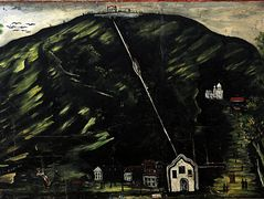St. David's Church (part of Tapestry in six paintings) – Niko Pirosmani