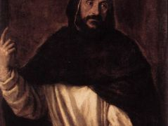 St Dominic — Titian