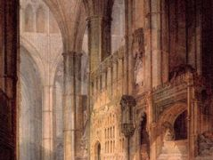 St. Erasmus in Bishop Islips Chapel, Westminster Abbey — William Turner