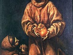 St. Francis and Brother Rufus — El Greco
