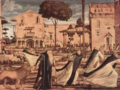 St. Jerome and Lion in the Monastery – Vittore Carpaccio