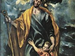 St. Joseph and the Christ Child — El Greco