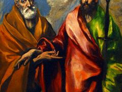 St. Paul and St. Peter — El Greco