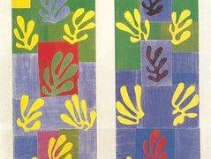 Stained Glass Window Window of the abside of the Rosary Chapel – Henri Matisse