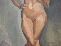 Standing nude from the front  – Roger de La Fresnaye