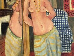 Standing Odalisque Reflected in a Mirror – Henri Matisse