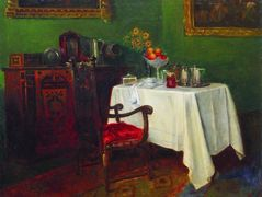 Still Life in an Interior – Konstantin Makovsky