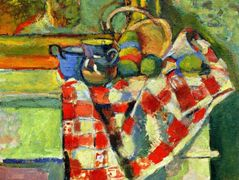 Still Life with a Checked Tablecloth  – Henri Matisse