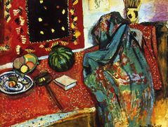Still Life with a Red Rug  – Henri Matisse