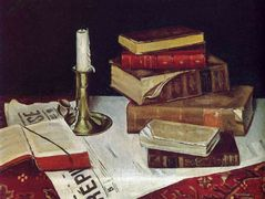 Still Life with Books and Candle  – Henri Matisse