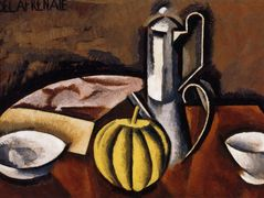 Still Life with Coffee Pot and Melon – Roger de La Fresnaye