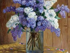Still Life with Lilacs – Nikolay Bogdanov-Belsky