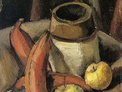Still Life with Red Bananas – Max Weber