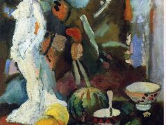 Still Life with Statuette  – Henri Matisse
