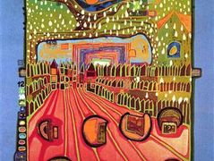 553A  Street for Survivors – Friedensreich Hundertwasser