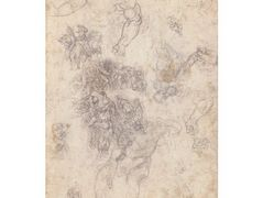 "Studies for ""The Last Judgement"" – Michelangelo"