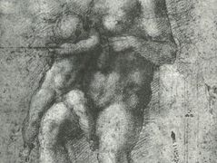 "Study for a ""Holy Family with the Infant St.John"" – Michelangelo"