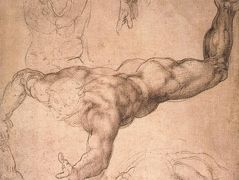 Study for «The Last Judgement» — Michelangelo