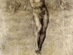 Study to Crucifixion — Michelangelo