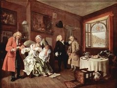 Suicide of the Countess — William Hogarth