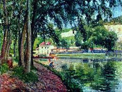 Summer Fishing – Camille Pissarro