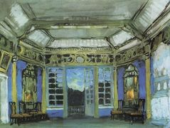 Summer office of Prince Vasily Golitsyn  – Konstantin Korovin
