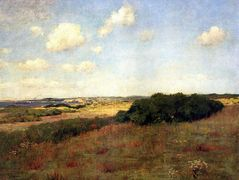 Sunlight and Shadow, Shinnecock Hills – William Merritt Chase