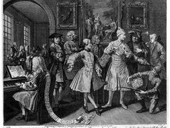 Surrounded by Artists and Professors – William Hogarth