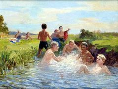 Swimming – Nikolay Bogdanov-Belsky