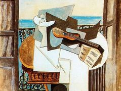 Table in front of window – Pablo Picasso