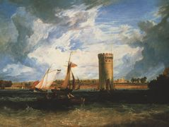 Tabley, the Seat of Sir J.F. Leicester Bt.: Windy Day  — William Turner