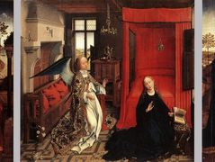 The Annunciation – Rogier van der Weyden