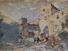 The Aragva Bank – Konstantin Korovin
