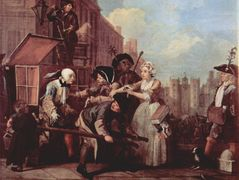 The arrest for theft — William Hogarth