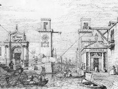 The Arsenal: the Water Entrance – Canaletto