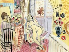 The Artist and his model  – Henri Matisse