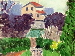 The Artist's Garden at Issy les Moulineaux – Henri Matisse