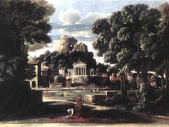The Ashes of Phocion collected by his Widow – Nicolas Poussin