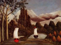 The Banks of the Oise – Henri Rousseau