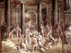 The Baptism of Constantine — Raphael