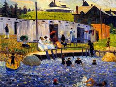The Bathing Hour – William James Glackens