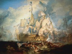 The Battle of Trafalgar — William Turner