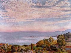 The Bay of St. Clair – Theo van Rysselberghe
