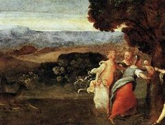The Birth of Adonis – Titian