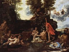 The birth of Baccus – Nicolas Poussin
